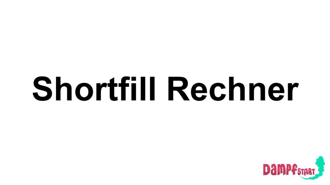 Der Shortfill Rechner von Dampfstart hilft dir dabei die Nikotinstärke im Shortfill Liquid zu dosieren.